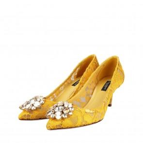 Dolce & Gabbana Yellow Heels