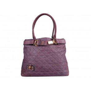 Marc Jacobs Purple Quilted Shoulder Bag