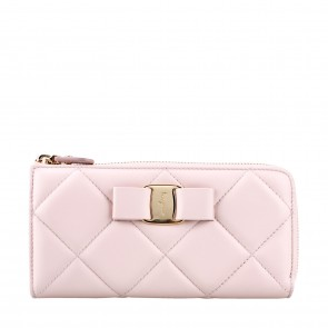 Salvatore Ferragamo Pink Macaron Wallet