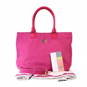 Tory Burch Pink Tote Bag