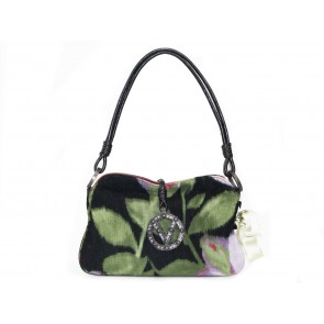 Valentino Multi Colour Printed Baguette Shoulder Bag