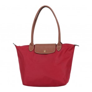 Longchamp Red Tote Bag