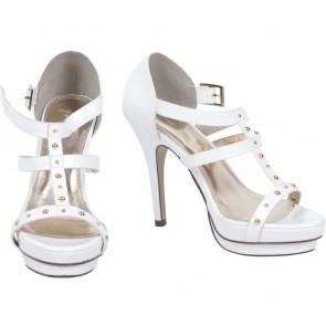 VNC White Heels
