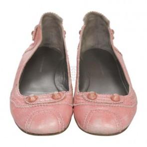 Balenciaga Pink Flats
