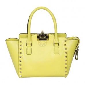 Valentino Yellow Tote Bag