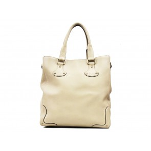 a.testoni Beige Shoulder Bag