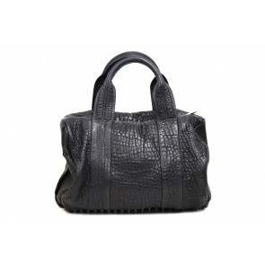 Alexander Wang Black Rocco Shoulder Bag