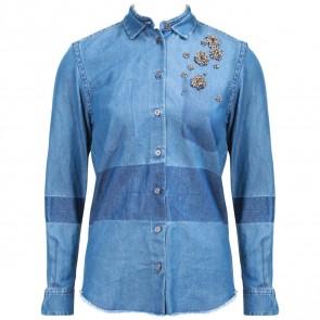 Andrea Pompilio Blue Shirt