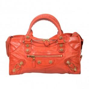 Balenciaga Red Tote Bag