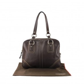 Coach Brown Leather Soho Bag
