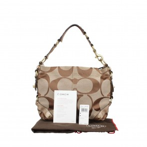 Coach Brown Shoulder Bag