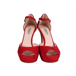 L.K.Bennett Red Heels