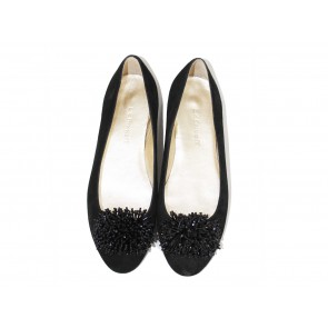 L.K Bennett Black Flats With Embellishment Flats