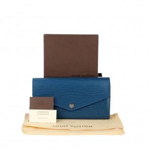 Louis Vuitton Blue Sara Wallet