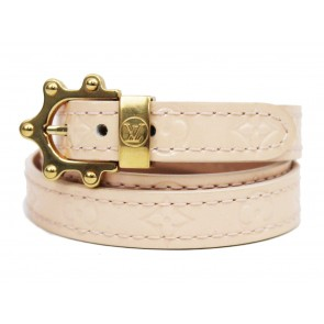 Louis Vuitton Cream Twirl Bracelet Jewellery