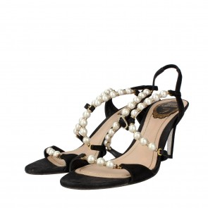 Rene Caovilla Brown Sandals