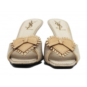 Yves Saint Laurent Beige Sandals