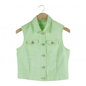Aeropostale Light Green Vest