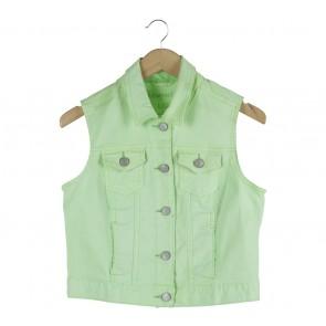 Aeropostale Light Green Vest