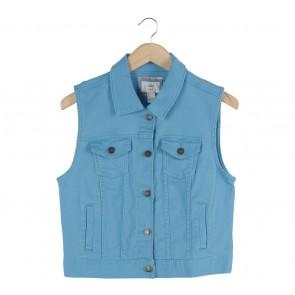 Forever 21 Blue Vest