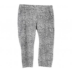 Marks & Spencer Black And White Leopard Pants