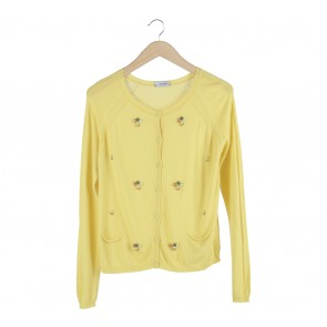 Max & Co Yellow Cardigan