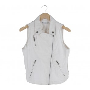 Stradivarius Off White Vest