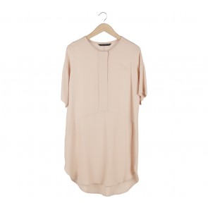 Zara Beige Mini Dress