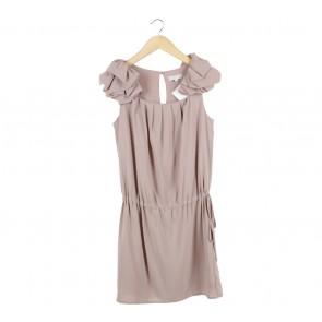 Celine Brown Mini Dress