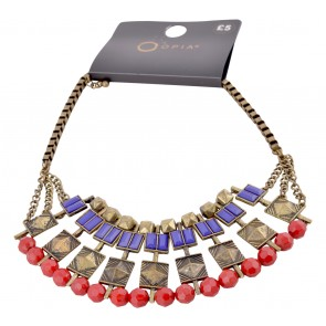 Gold And Red Jewellery