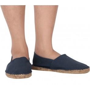 Asos Dark Blue Slip On Flats