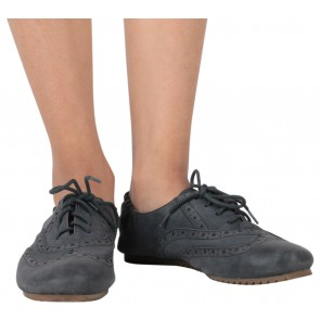 Staccato Grey Flats