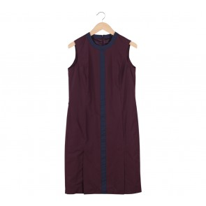 Raoul Brown Midi Dress