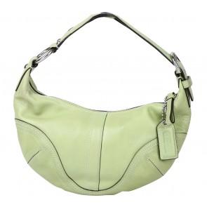 Coach Green Handbag