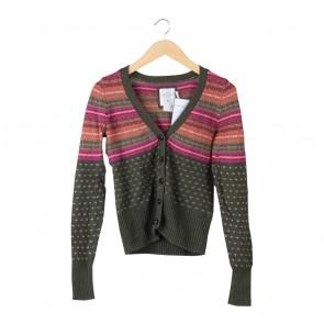 H&M Multi Colour Patterned Cardigan
