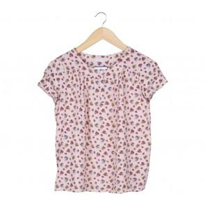 Zara Pink Floral Shirt