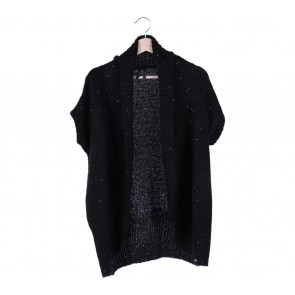 Guess Black Sequins Knitted Cardigan