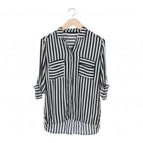 Zara Multi Colour Stripes Blouse