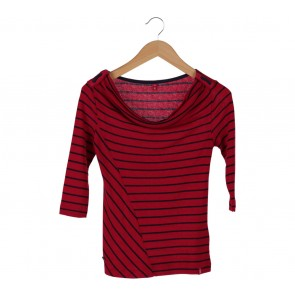 Edc Multi Colour Stripes T-Shirt