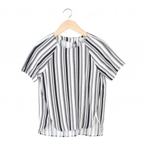 H&M Multi Colour Striped Blouse
