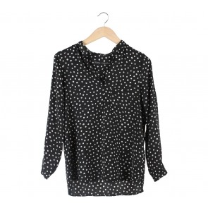 Zara Black Dots Blouse