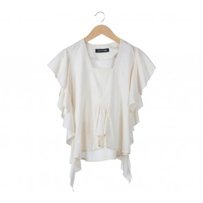 Cotton Ink Cream Blouse