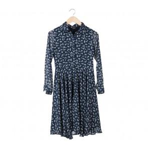Le Bijou Dark Blue Midi Dress