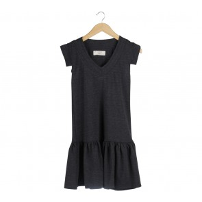 (X)SML Dark Grey Mini Dress