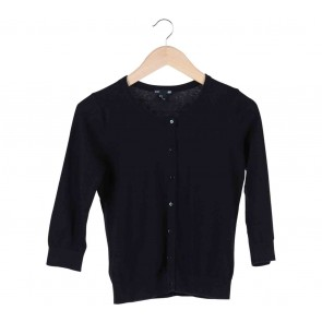 H&M Black Basic Cardigan