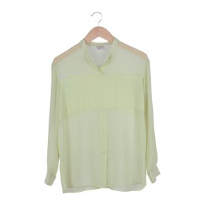 H&M Green Sheer Shirt