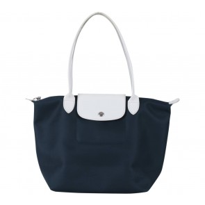 Longchamp Blue Les Pliages Tote Bag