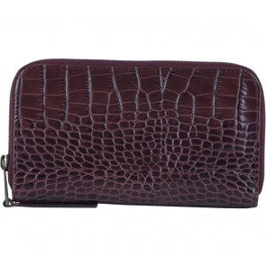 Marc Jacobs Purple Croco Wallet