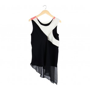 (X)SML Multi Colour Layered Sleeveless