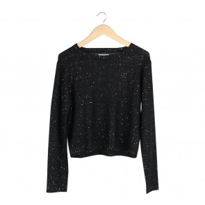 Cotton On Black Sequin Sweater